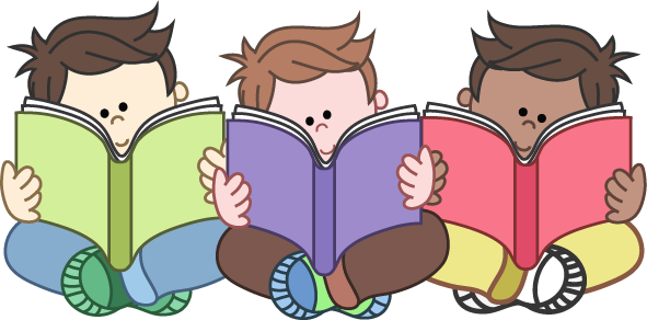 Kids Reading Clipart Png.