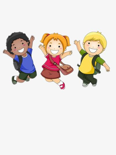School Children, School Clipart, Children Clipart.