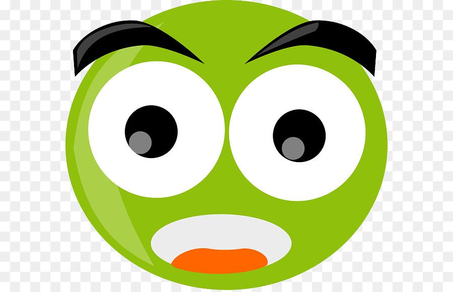 Green Smiley Face clipart.