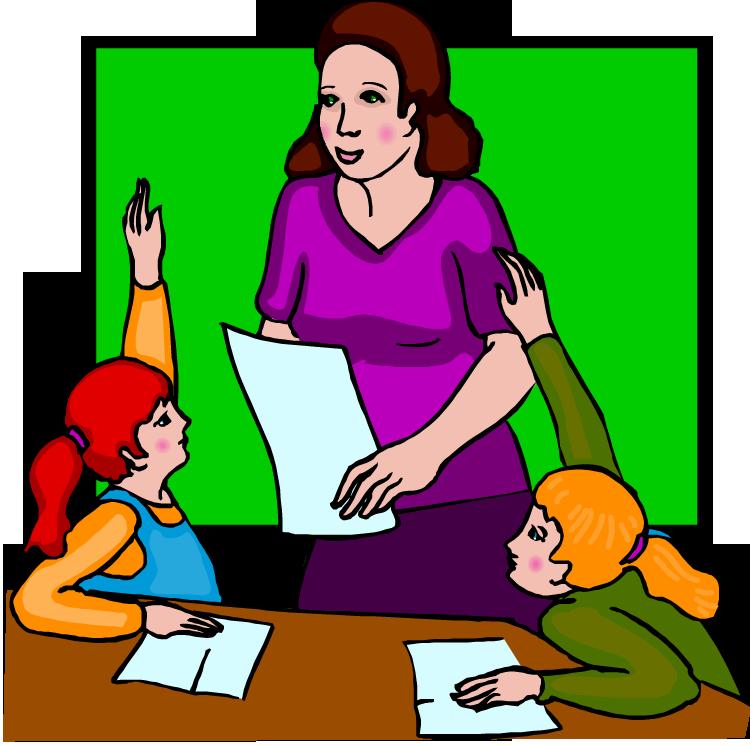 Image result for images of cartoon teacher\'s desk.