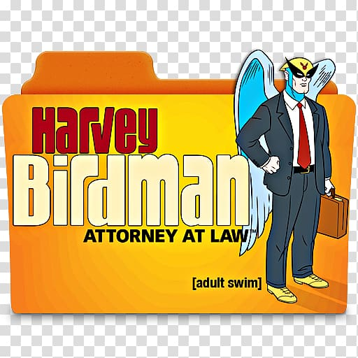 Harvey Birdman Adult Swim Television show Animated cartoon.