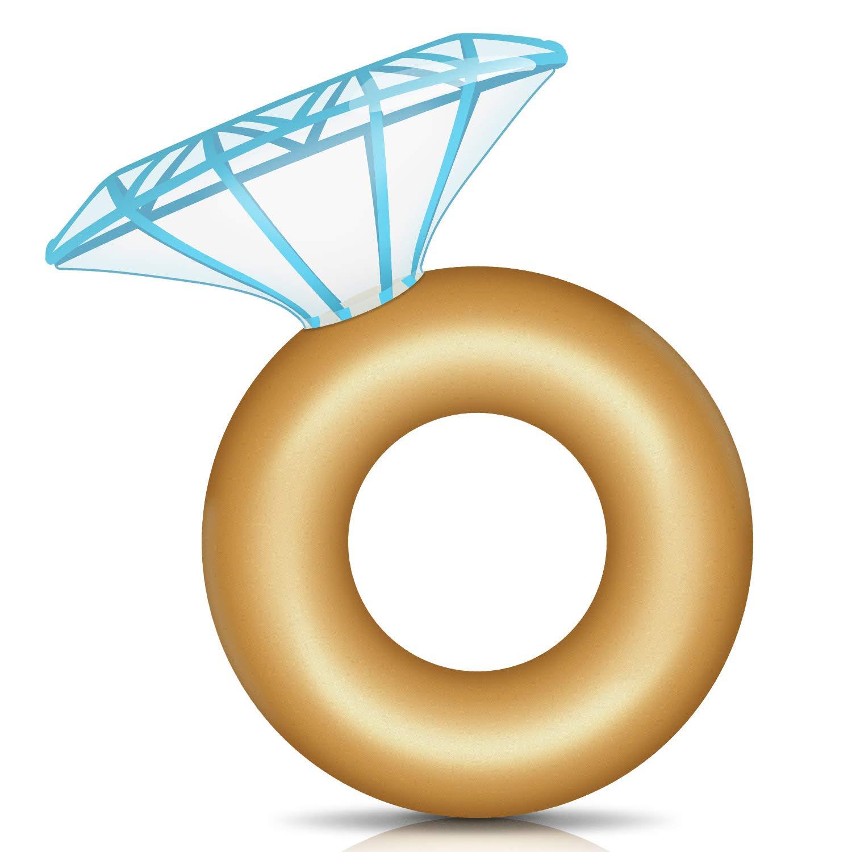 Amazon.com: GAOPAN Inflatable Pool Float Diamond Ring Floaty.