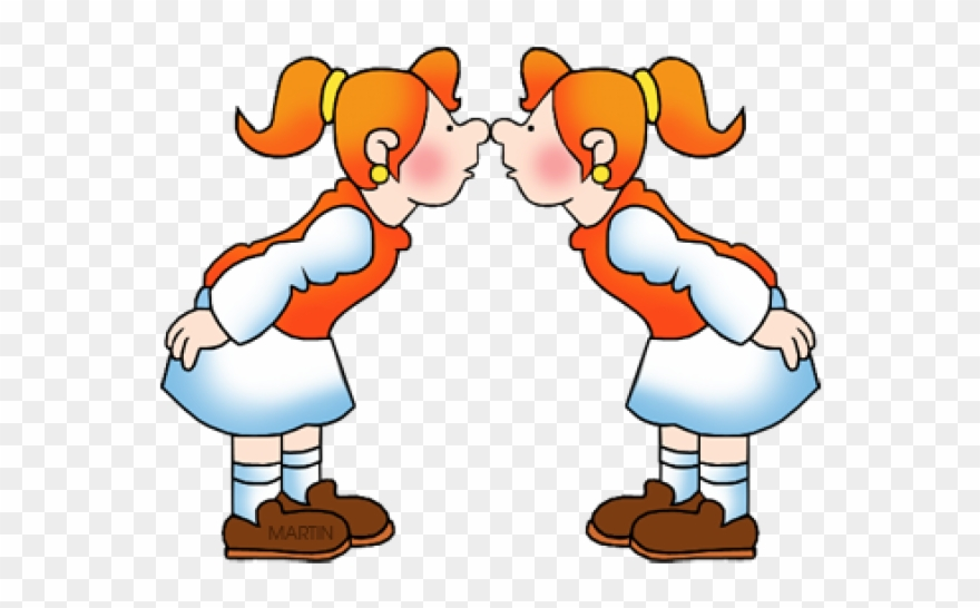 Twins Clipart Family.