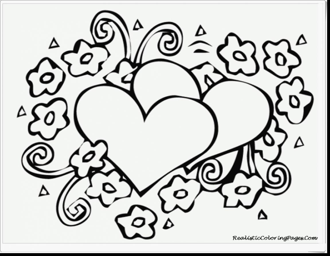 Coloring Pages For Adults Valentines Day.