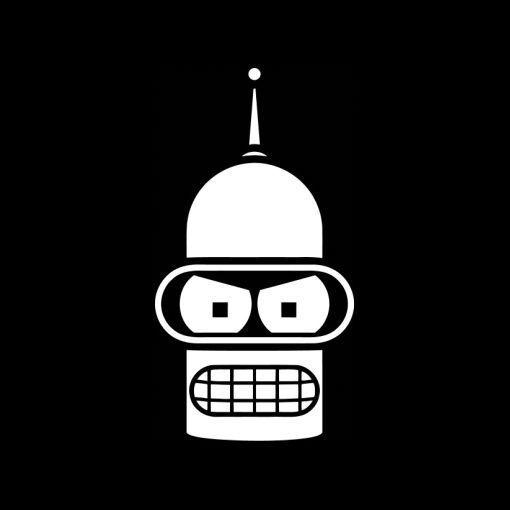 Details about Bender Vinyl Decal Sticker.