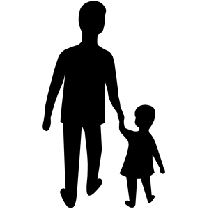 Adult and child clipart, cliparts of Adult and child free.