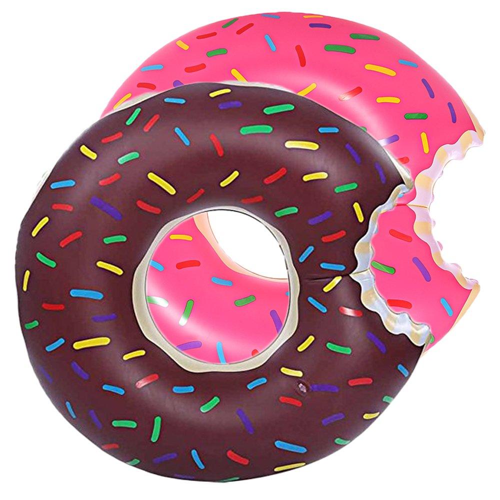 DMAR 1pcs 120cm Pool Floats for Adults Inflatable Donut Pool Float Swim  Rings Single.