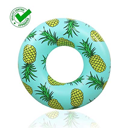 Eastro Pool Float Swimming Rings Giant Pineapple Inflatable Rafts for  Adults and Kids,51\