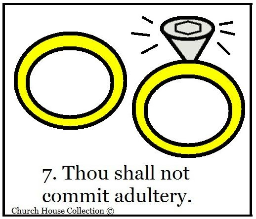do not commit adultery clipart.