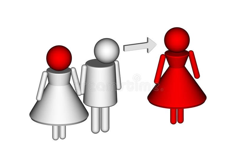 Infidelity Stock Illustrations.