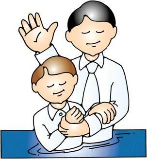 Lds Clipart Baptism Boy.