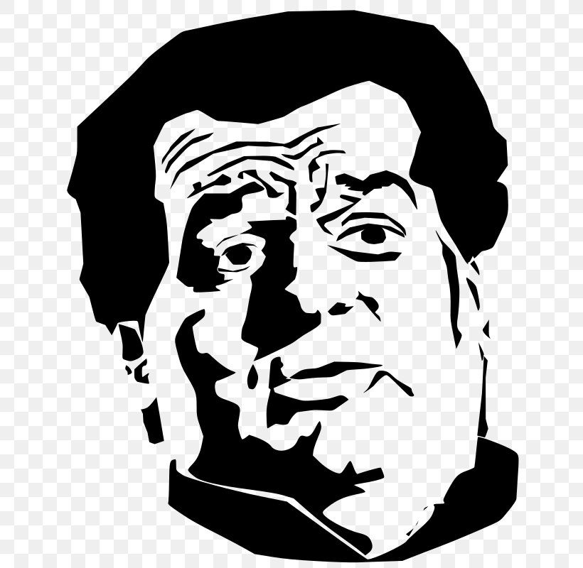 Black And White Man Clip Art, PNG, 641x800px, Black And.