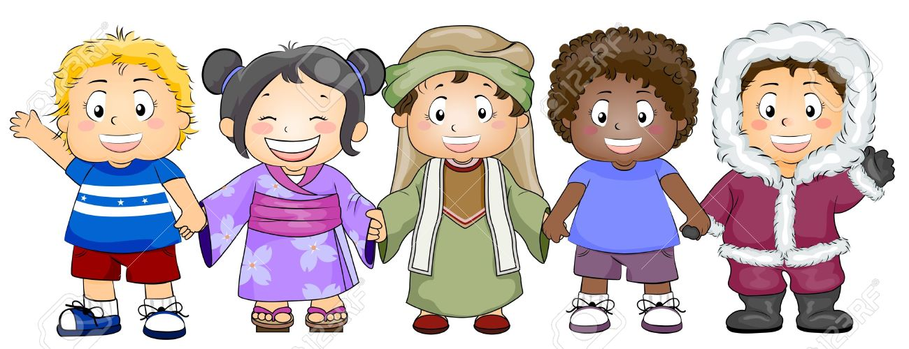 Race And Ethnicity Clipart.