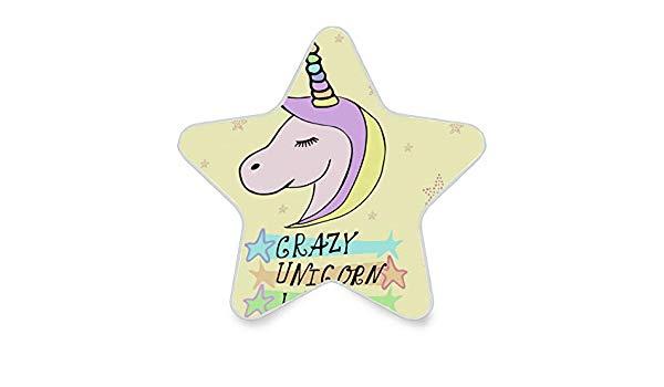 Amazon.com: ATONO Crazy Unicorn Lady Rainbow Temple Stars.