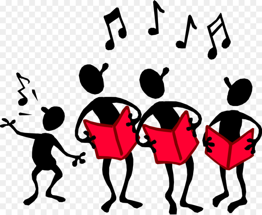 Free Clipart Choir Singing.