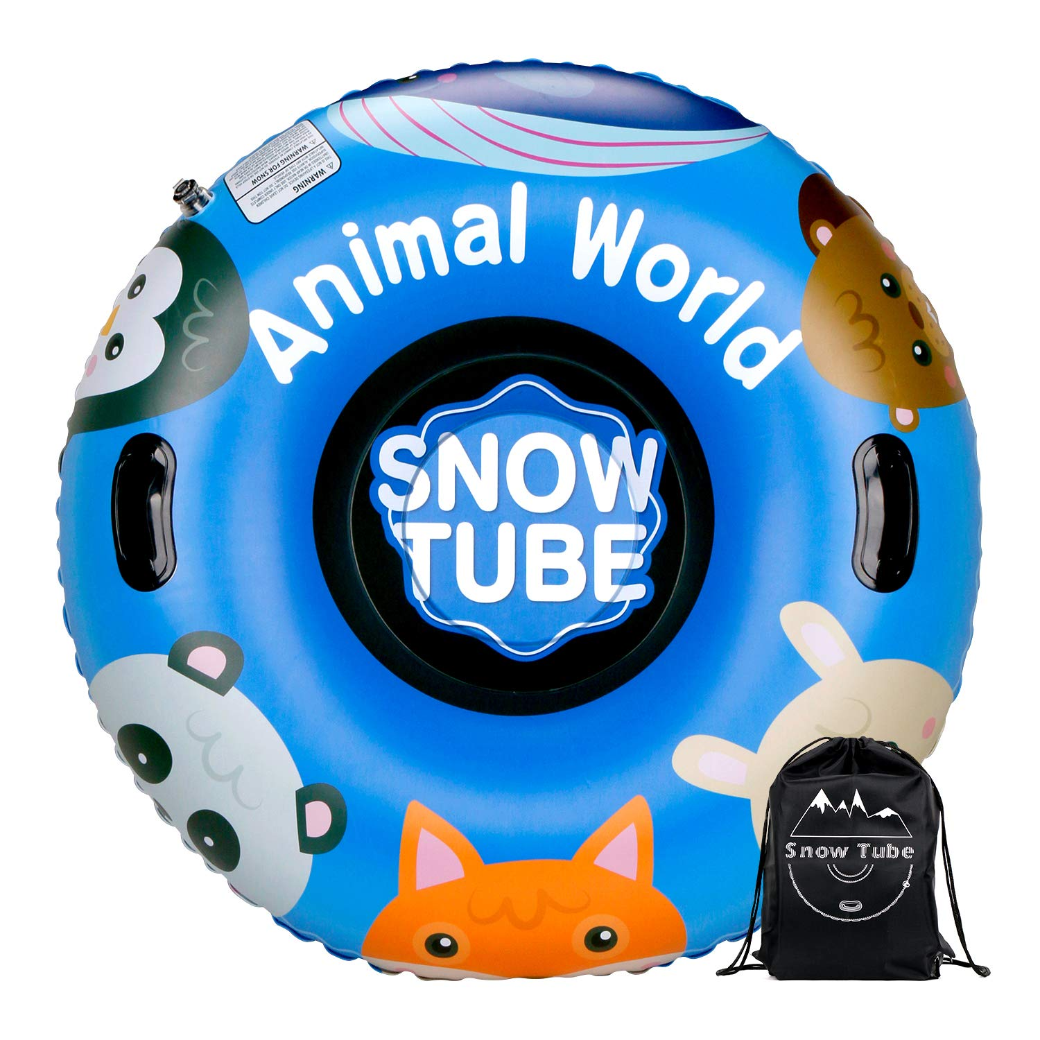 XGEAR 47 Inch Inflatable Snow Tube.