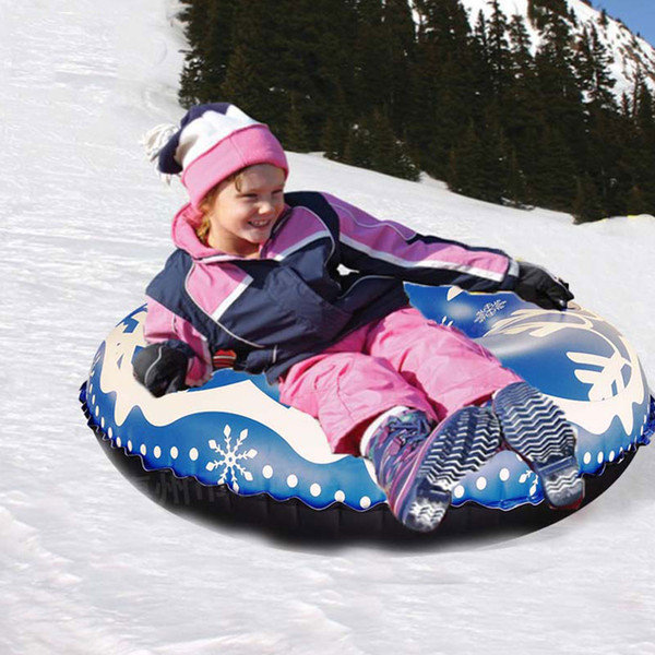 2019 Toy Adults Childern Family Inflatable Winter Outdoor PVC Ski Circle  Games Raft Durable Sports Sturdy With Handle Snow Tube From Ranshu, $39.87.