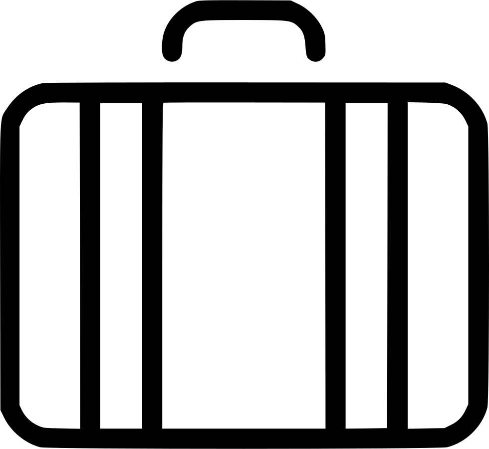 Suitcase Travel Baggage Luggage Svg Png Icon Free Download.