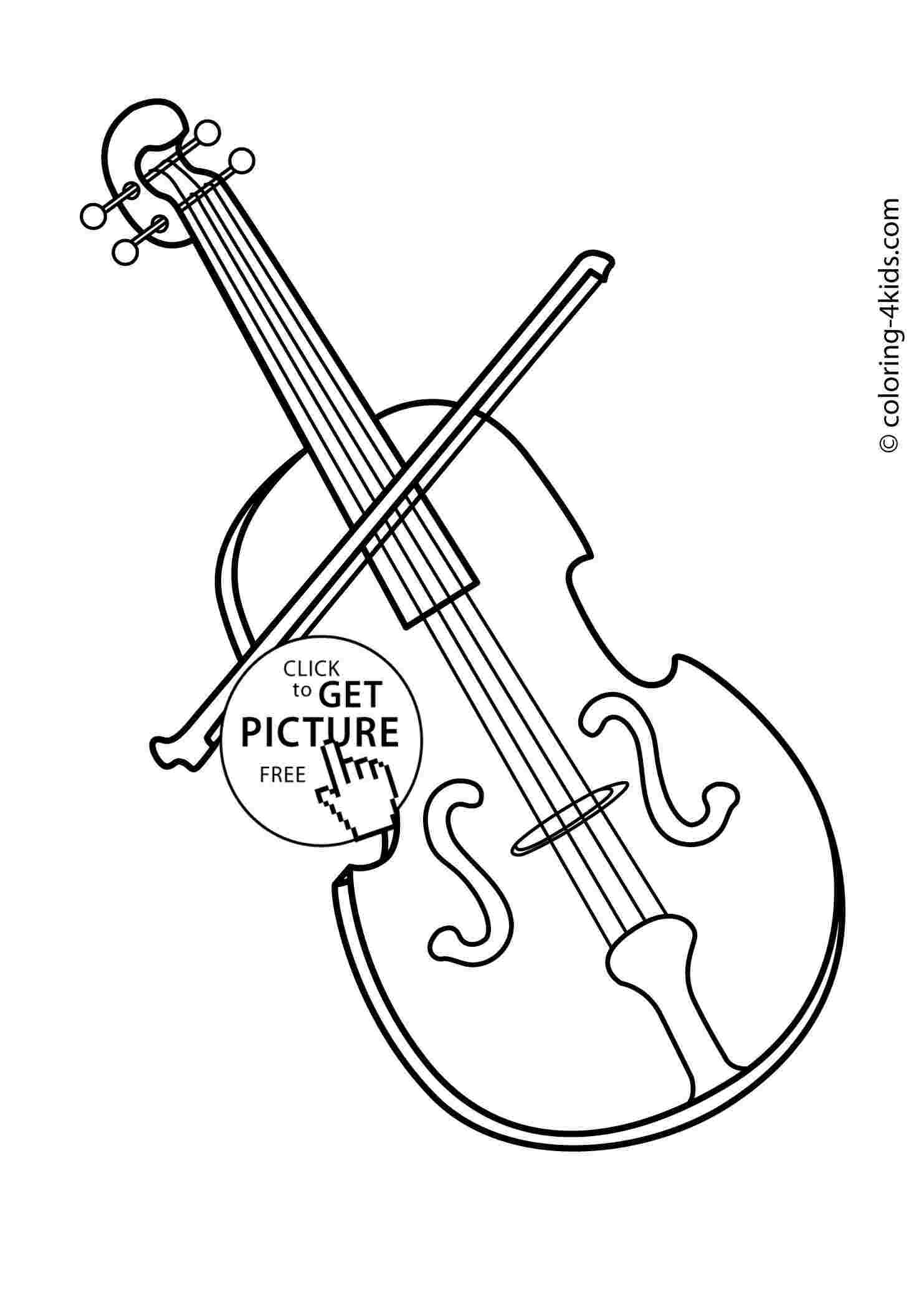 Free Cliparts: Sheet Music Instruments Cello Clipart Free.