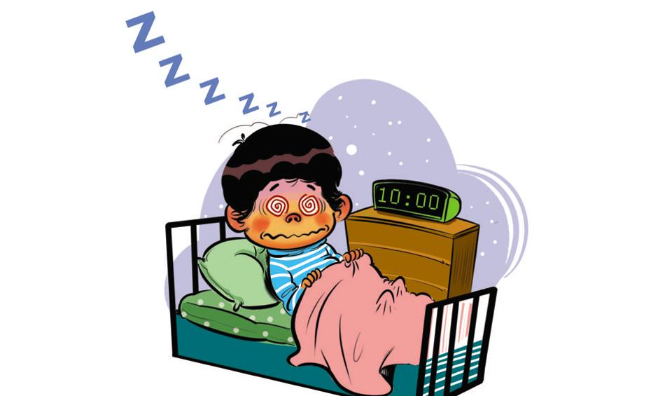 Parents take note: Indian toddlers don\'t sleep tight.