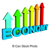Stock Illustrations of Improve Economy Represents Improvement Plan.
