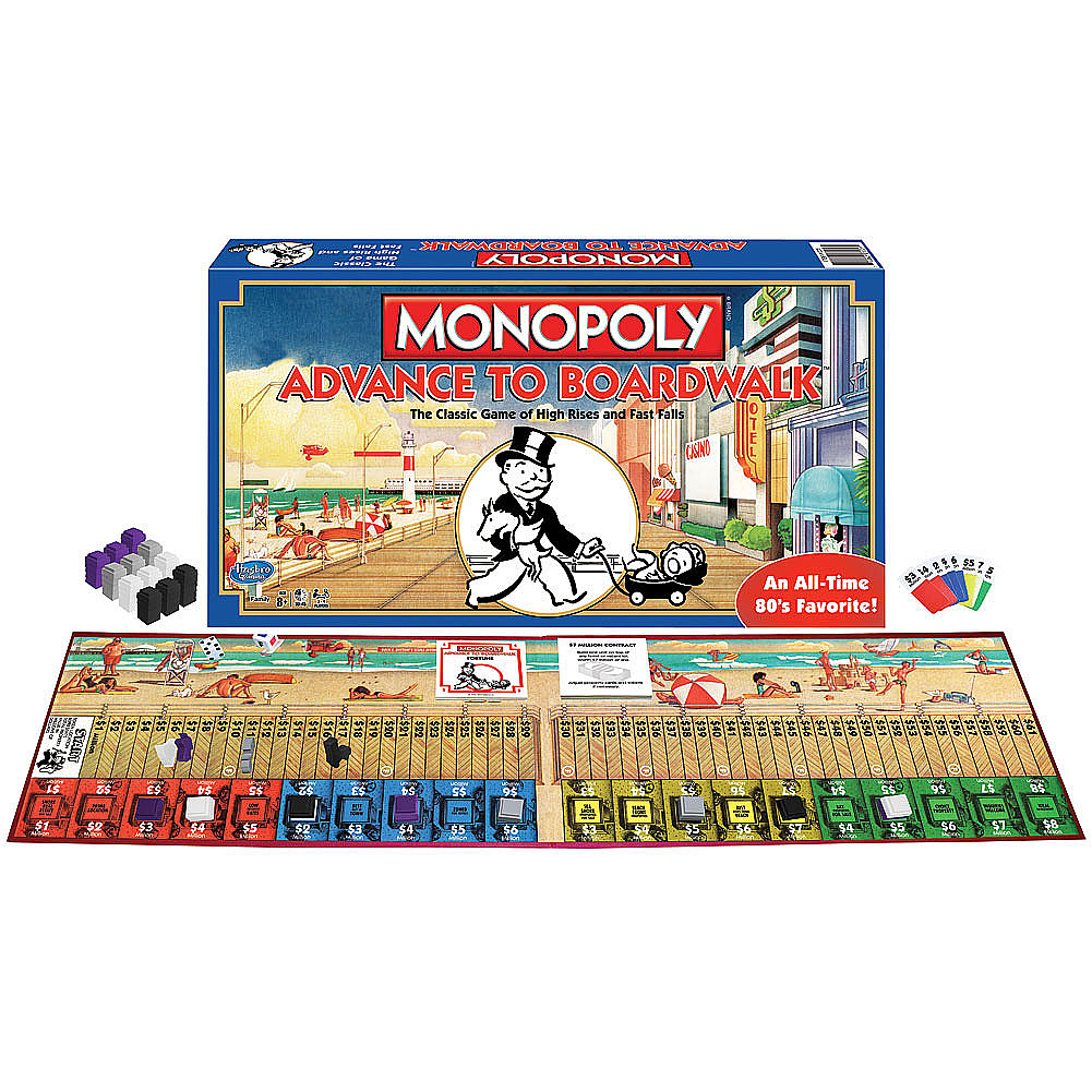 Board Game Review: \'Monopoly Advance to Boardwalk\' from.