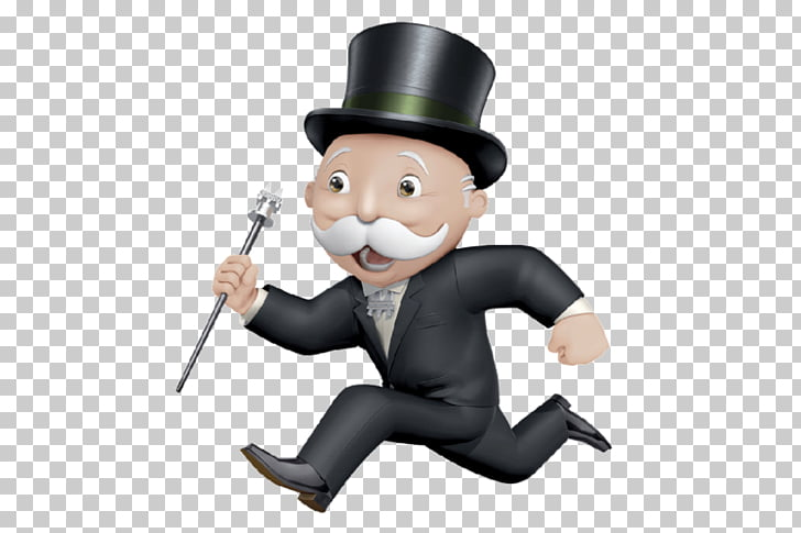 Monopoly Junior Rich Uncle Pennybags Chance and Community.