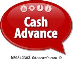 Cash advance Stock Illustration Images. 198 cash advance.