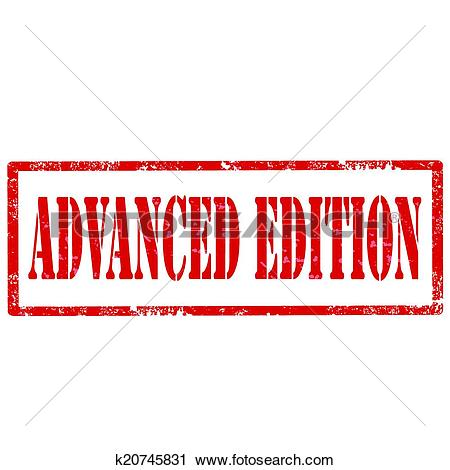 Clipart of Advanced Edition.