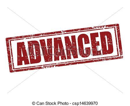 Vectors Illustration of Advanced.
