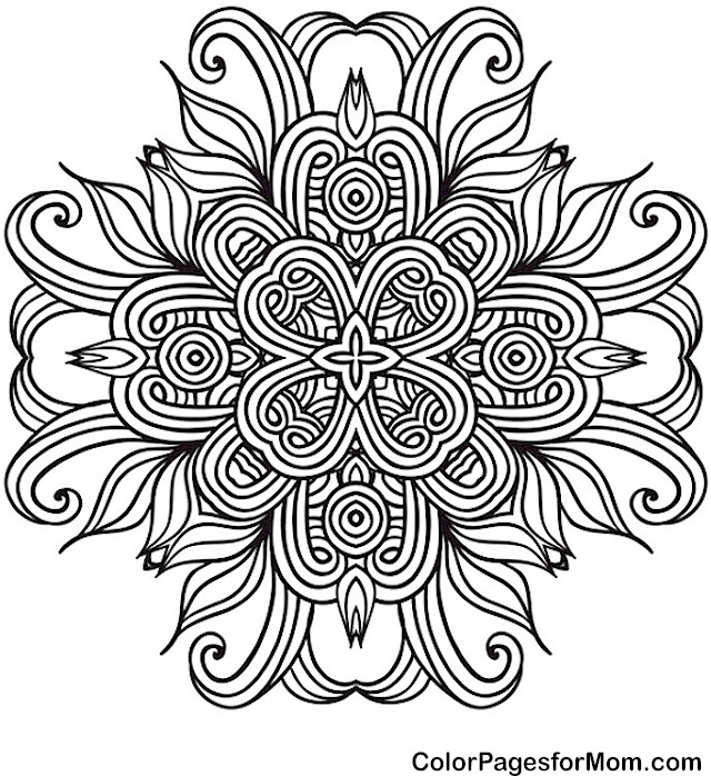 Coloring pages colouring adult detailed advanced printable Kleuren.