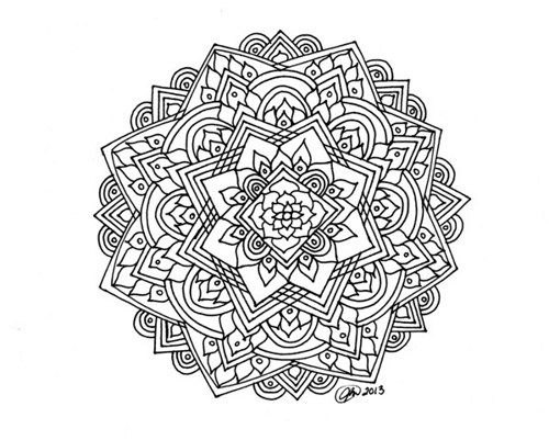 33 Lotus Flower Mandala Coloring Pages Uncategorized printable.