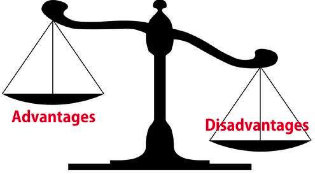 Advantages and disadvantages of higher education.