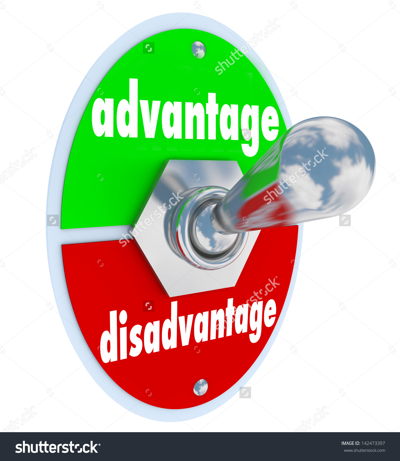 Advantages and Disadvantages Clip Art.