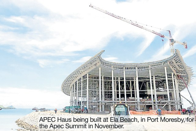 How much will Papua New Guinea benefit from the Apec meeting?.
