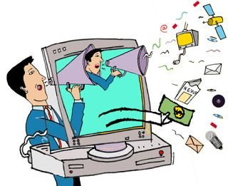 Advantages Of Television Clipart.