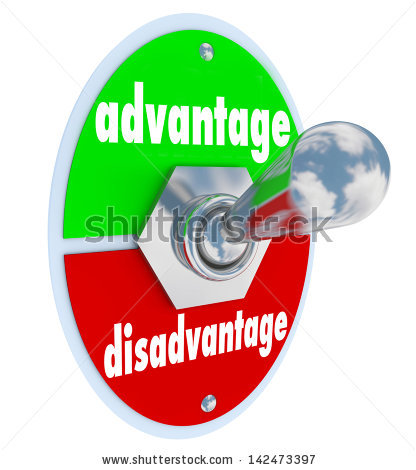 Advantages And Disadvantages Stock Images, Royalty.