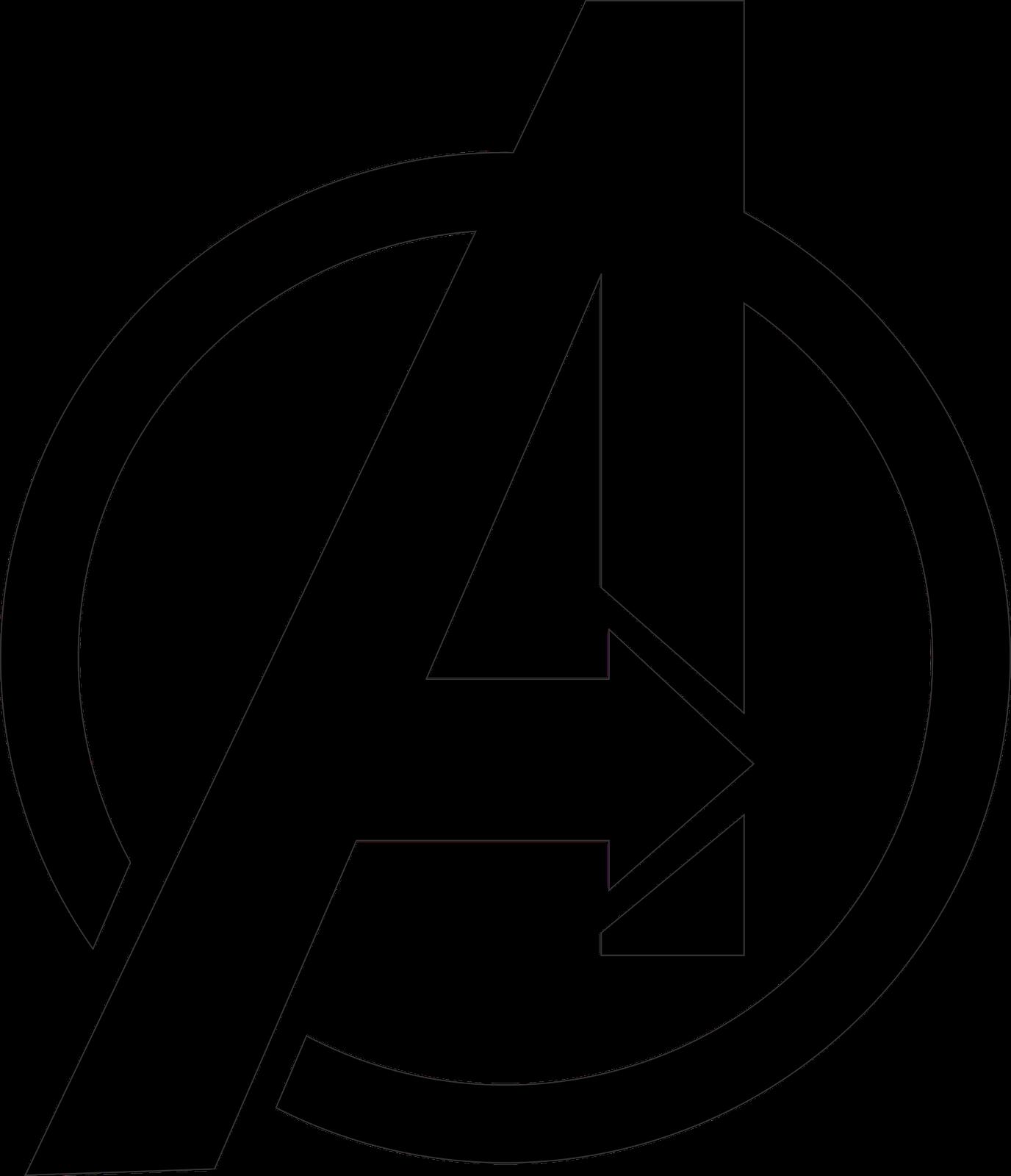 Avengers Logo Vector PNG Transparent Avengers Logo Vector.