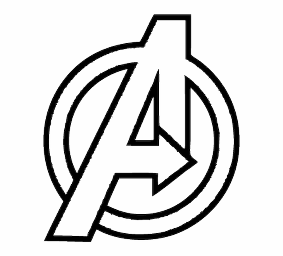 Avengers Logo White Png Clipart Png Download Easy.