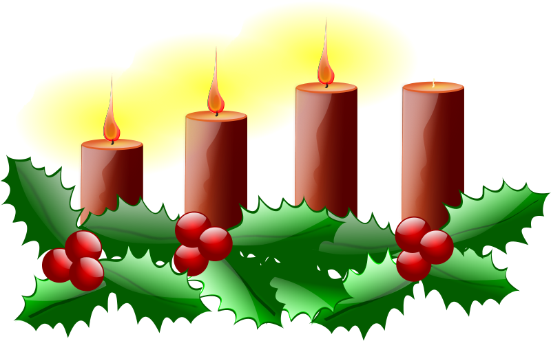 Free Clipart: Third Sunday of Advent.