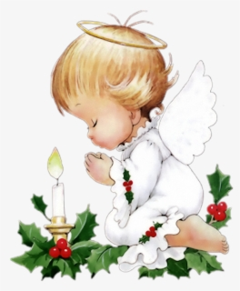 Free Christmas Angel Clip Art with No Background.