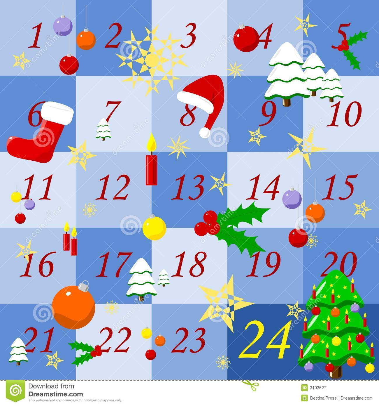 Clipart advent calendar PNG and cliparts for Free Download.