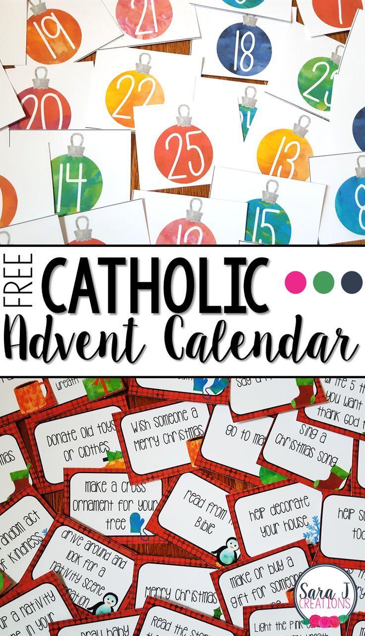 Free Catholic Advent Calendar.