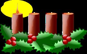 Advent Candles Clip Art at Clker.com.