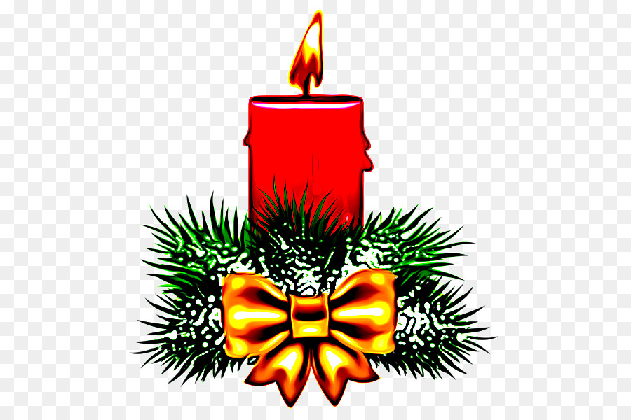 candle lighting clip art tree pine.