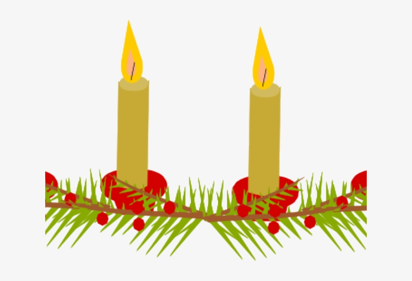 Candle Clipart Candlelight Service.