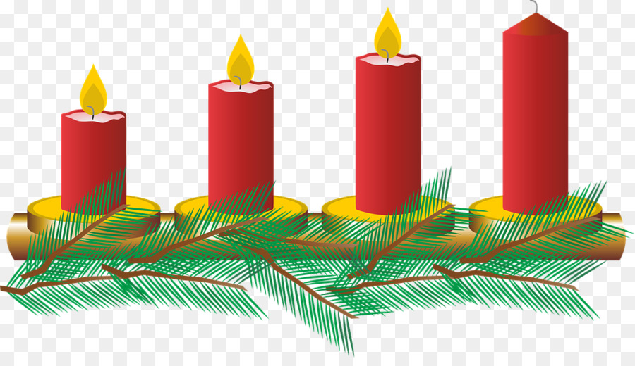 Advent wreath Christmas ornament Gaudete Sunday Clip art.