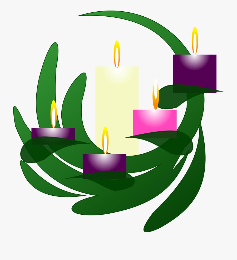 Clipart Advent Wreath Christmas Eve.