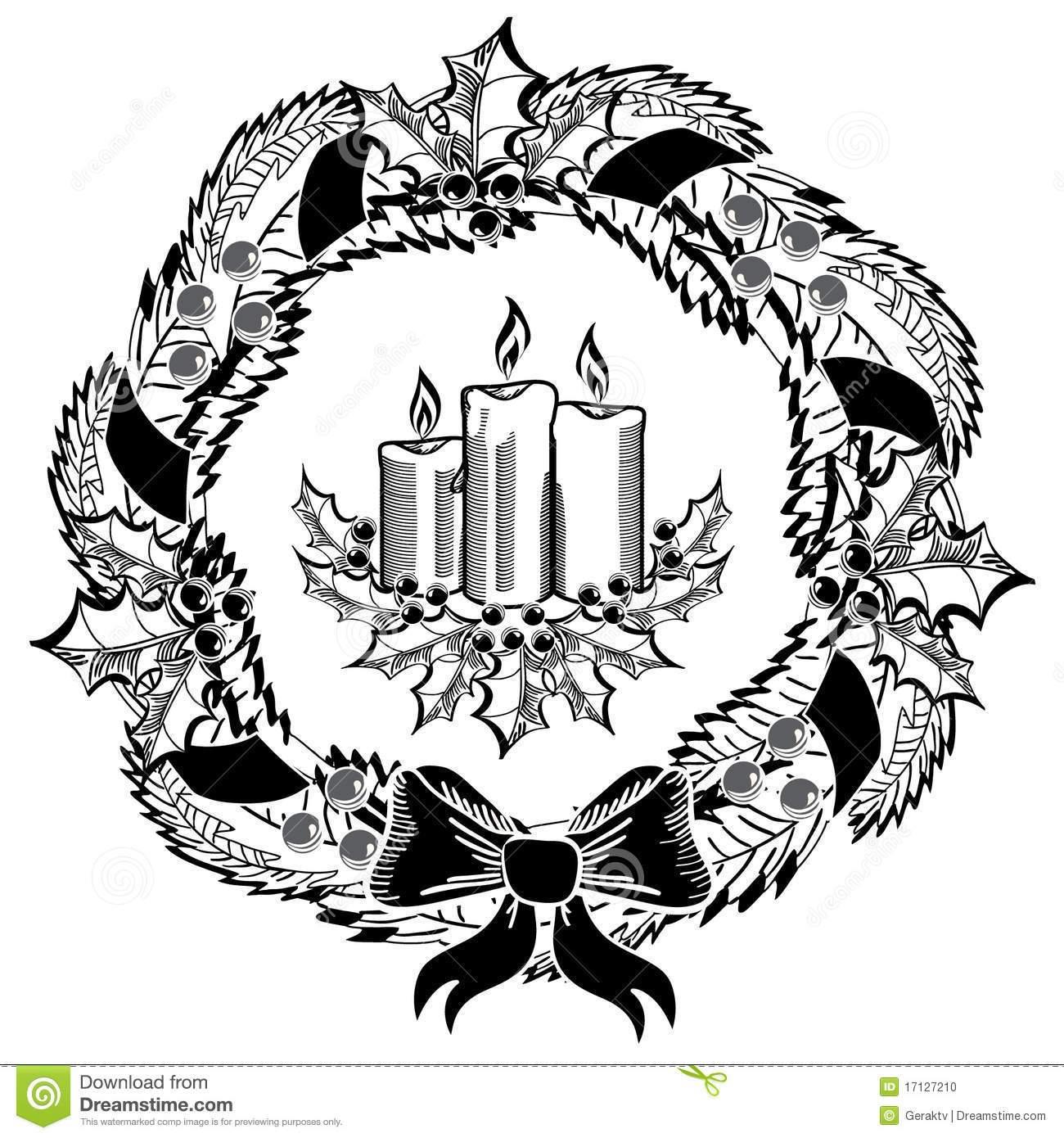 Advent clipart black and white 5 » Clipart Portal.
