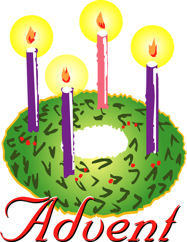 Religious Advent Clipart.